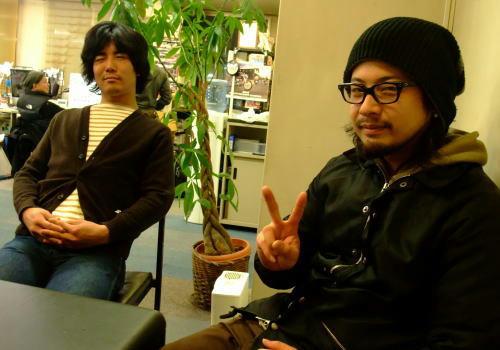 目元が伊藤英明に似ているらしいモーリー。でも残念!目を閉じてます。