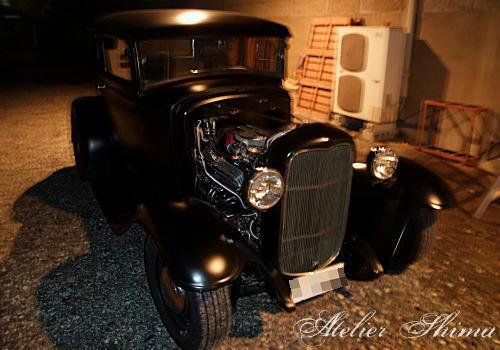 1931年に製造された車。。。予想外に速くてビックリしました。w
