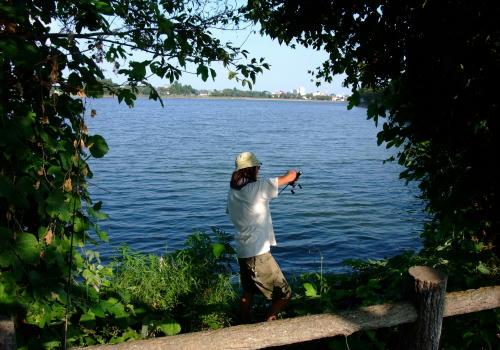 少年の様にバス釣りに夢中なたけしさん。w