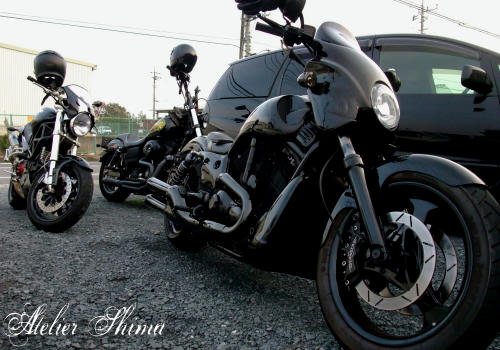 HARLEYとDUCATI・・・走る事が好きならば、バイクのジャンルなんて関係ないのです。