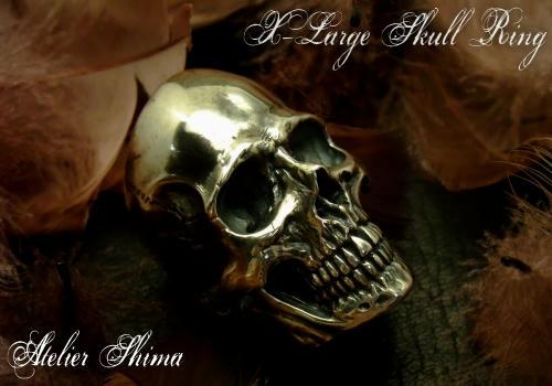 今回、カスタムのベースとなったX-Large Skull Ring