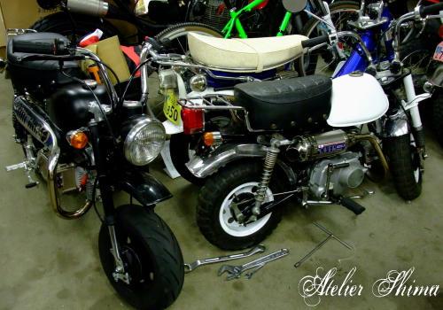 こちらはモトモトの撮影で使用するバイクでしょうか?