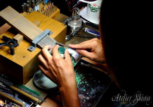 Atelier Shima オリジナル コンチョ製作