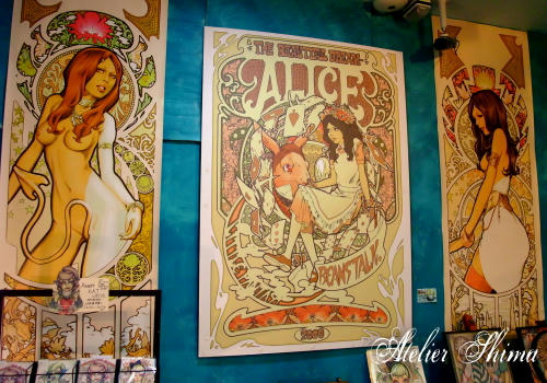 高円寺「アリスと豆の木」