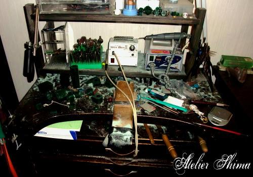 コルナデザイン 彫金机