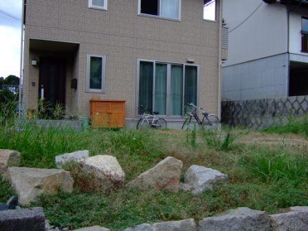 エクステリア&ガーデン施工前