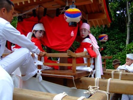 八幡山八幡神社 秋まつり ちょうさい