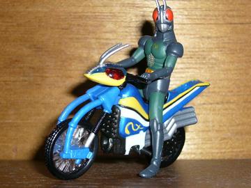 仮面ライダーBLACK RX&アクロバッター フィギュア