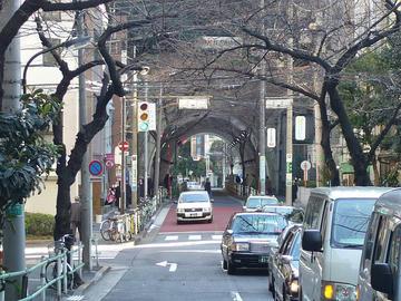 NHK放送博物館下トンネル