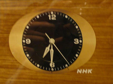 NHK時計(木目版)