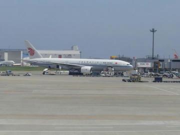 CA926便in成田空港
