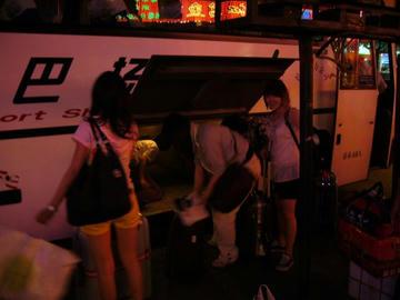 北京のホテル到着