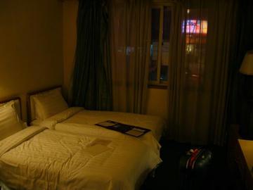 北京のホテル客室