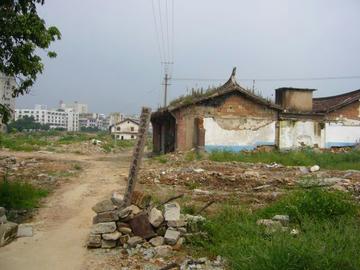 取り残された媽祖廟