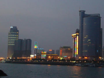 廈門の夜景
