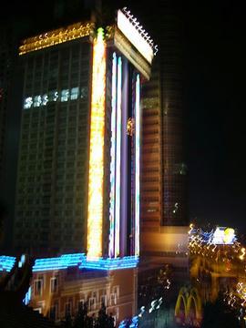 レストランから見た夜景