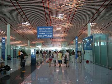 北京空港出発ゲート