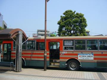 白子車庫行きバス