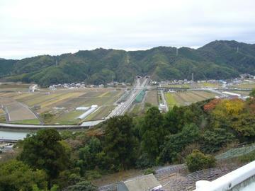五台山からの眺望