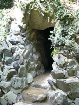 51番 石手寺・洞窟出口