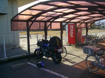 ホテルユニバース駐輪場