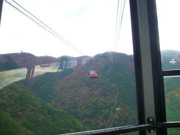 雲辺寺山山頂への途中