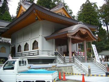 66番札所 雲辺寺 新本堂(建設中)