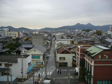 琴平町の朝