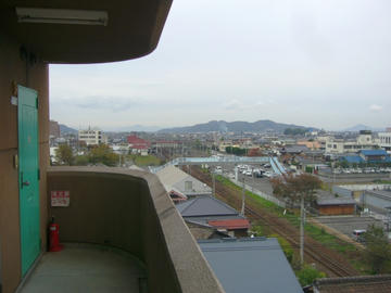 サンウェルコトヒラからの眺め