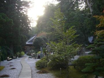 21番札所 太龍寺 本堂と大師堂