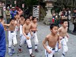 子供の裸詣り