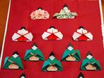 折り紙の雛人形