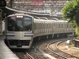 鎌倉車両センターE217系(LED車)