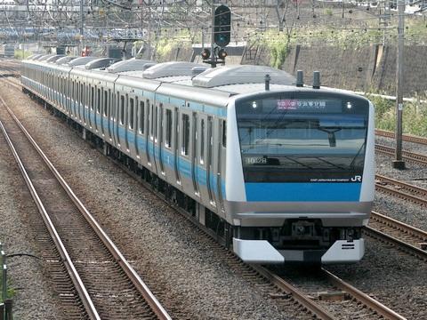 浦和電車区E233系