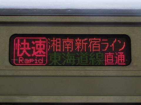 湘南新宿ライン東海道線直通/快速国府津_2