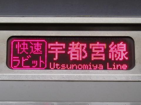 宇都宮線/快速ラビット小金井_2