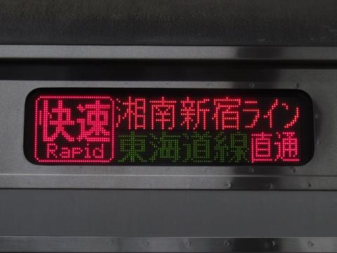 湘南新宿ライン東海道線直通/新宿経由快速平塚_2