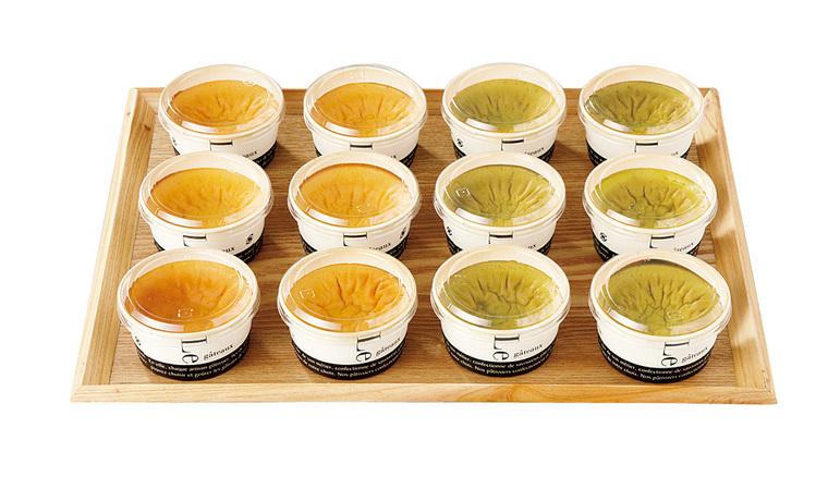 ふわとろ半熟カステラ(プレーン・抹茶×各6個) 計12個セット