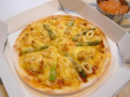 シーフードピザ弁当