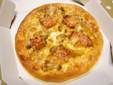 きのこピザ弁当