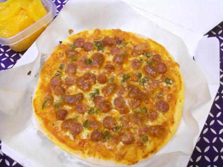 チョリソー青唐辛子のピザ弁当