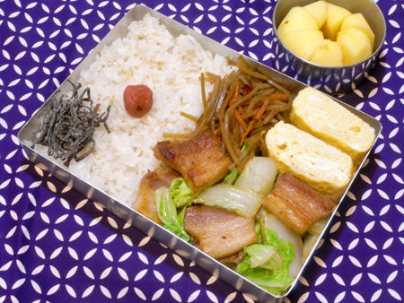 塩豚白菜炒め弁当