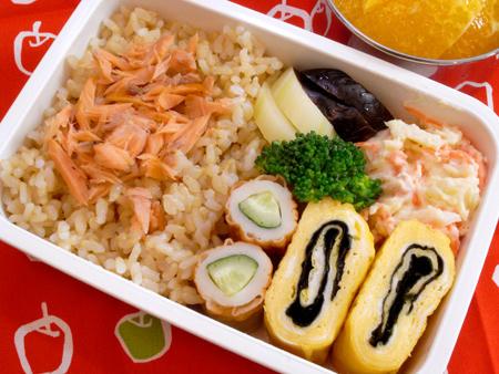 鮭ほぐし弁当