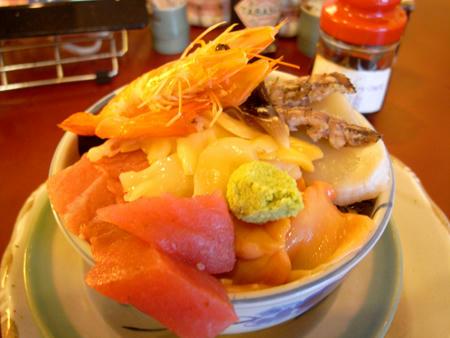 築地「米花」の海鮮丼