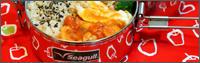 鶏とジャガイモのトマト煮弁当