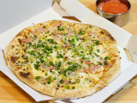 ねぎだくシラスのピザ弁当