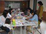 月1回のモザイク教室