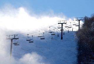 ルスツの近くのスキー場