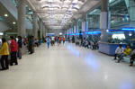 スワナプーム空港 1Fバス用ロビー