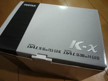 ペンタックスK-X